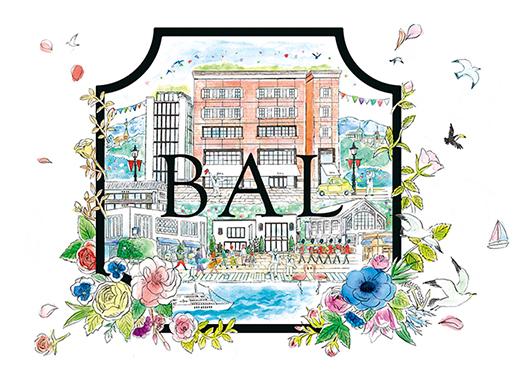 神戸BALリニューアル_JP元町吊り広告